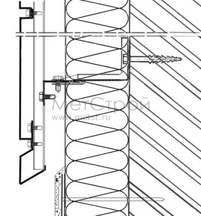 Схема монтирования цоколя