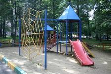 Изготовление и порошковая окраска металлических элементов детской площадки