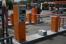 Порошковая покраска парковочных терминалов из стали 2, 3 мм