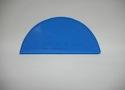 Заглушка желоба круглой водосточной системы Wincraft из оцинкованной стали с полимерным покрытием небесно-синего цвета (RAL 5015)