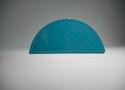 Заглушка желоба круглой водосточной системы Wincraft из оцинкованной стали с полимерным покрытием на основе полиуретана цвета морской волны (RAL 5021)