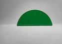 Заглушка желоба круглой водосточной системы Wincraft из оцинкованной стали с полимерным покрытием пурал цвета RAL 6005 (зеленый плетеный)