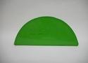 Заглушка желоба водосточной системы Wincraft круглого типа из оцинкованной стали с полимерным покрытием на основе полиуретана желто-зеленого цвета (RAL 6018)