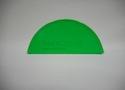 Заглушка желоба водостока Wincraft из оцинкованной стали с полимерным покрытием люминесцентно-зеленого цвета (RAL 6038)