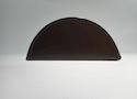 Заглушка желоба круглой водосточной системы Wincraft из оцинкованной стали с защитным покрытием пурал шоколадно-коричневого цвета (RAL 8017)