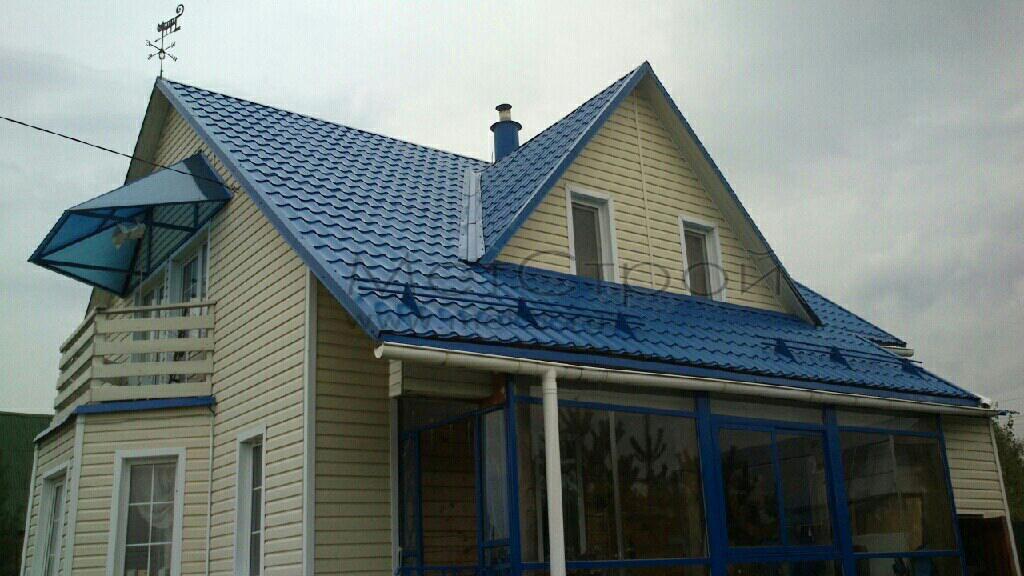 Цвета металлочерепицы для крыши фото монтеррей